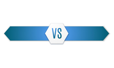 Versus Logo. VS Vector Letters Illustration. Competition Icon. Fight Symbol.