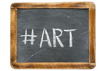 art hashtag