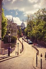 Rue de l'Abreuvoir, Montmarte, Paris,