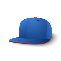 Baseball cap. Vector illustration.