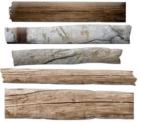 verschiedene Holzbretter