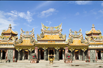 Sien Loh Tai Tien Kong shrine, Thailand.