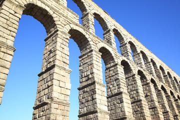 Wall Mural - Roman aqueduct in Segovia