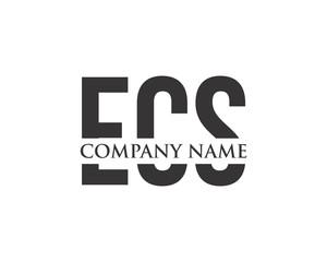 E, C & S Letter Logo