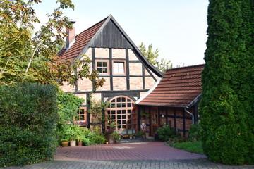 Saniertes Schaumburger Fachwerkhaus
