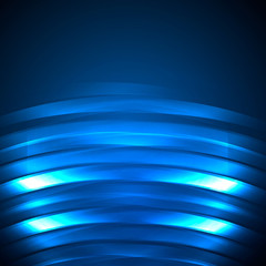 Blue Abstract Background neon