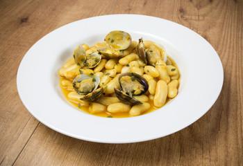 Plato de fabada en Asturias