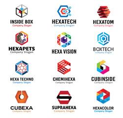 Hexagonal shapes Design