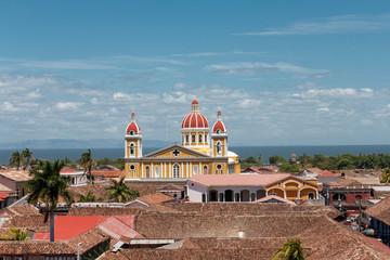 Granada, Nicaragua. View from La Merced Church