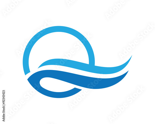 Q wave water logo stock image and royalty free vector files on q wave water logo reheart Gallery