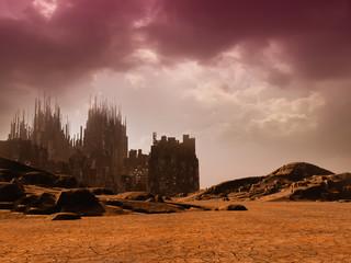 Dead City in the Desert