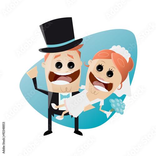 Hochzeit Lustig Cartoon Stockfotos Und Lizenzfreie Vektoren Auf