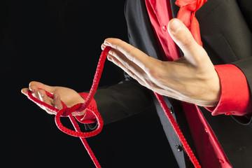 Truco con cuerda