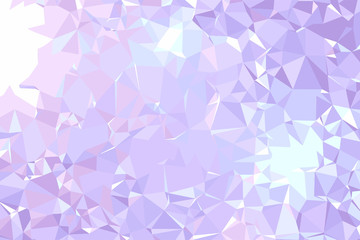 Abstract background vector illustration representing beautiful gemstone texture. Light purple, blue and pink colors.