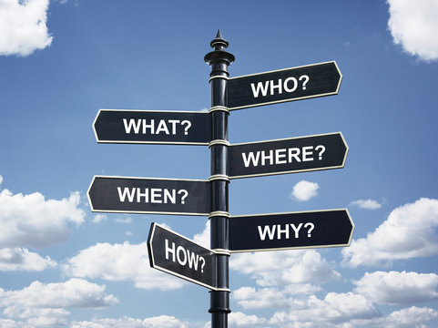 Six most common questions in business and education