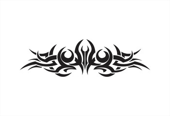 Tribal logo vector