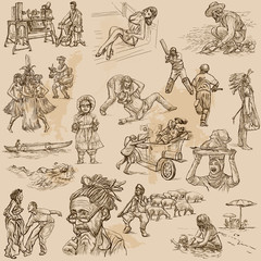 An hand drawn vector pack - PEOPLE
