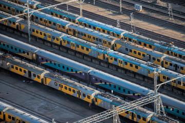 train and wagons