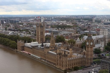 Palace of Westminster, London, United Kingdom. UNESCO World Heritage Site.