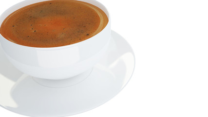 cup of coffee 3D
