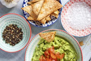 Homemade guacamole