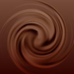 Chocolate cream swirl
