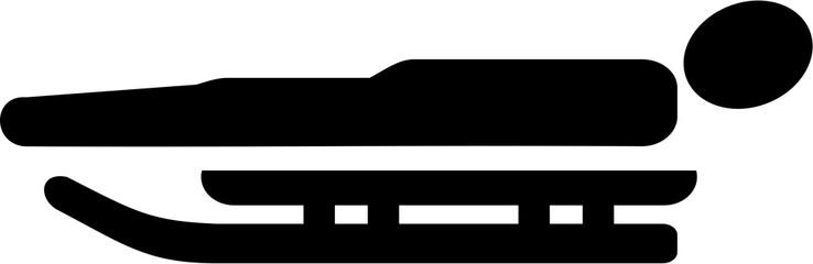 Luge pictogram