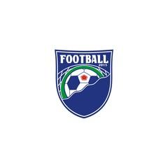 Emblem. Football. Command symbols.