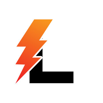 initial Lightning Logo
