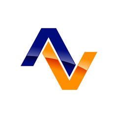 Initial AV Logo