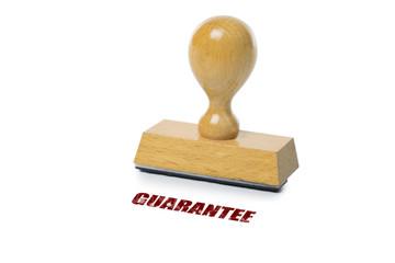 Papier Peint - Guarantee Rubber Stamp