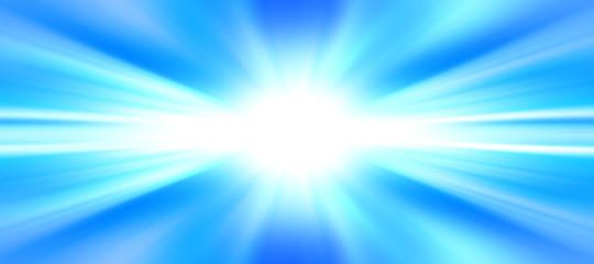 Esplosione di luce - energia - template