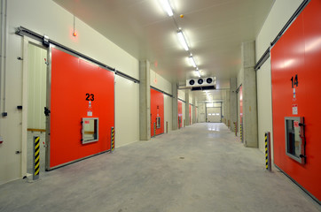 New Refrigerated Warehouse