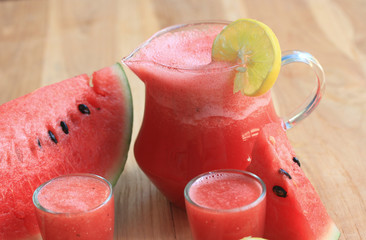 Watermelon smoothies