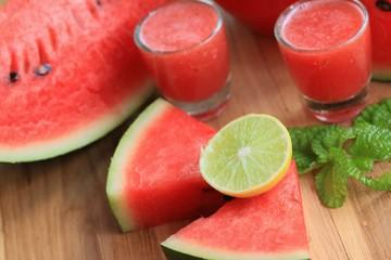 Watermelon smoothies