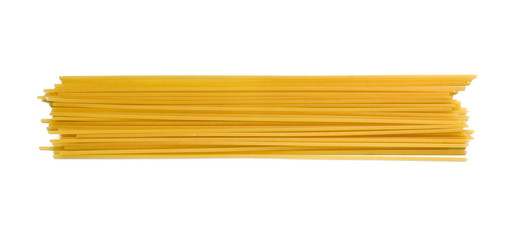 Spaghetti pasta on white Wall mural