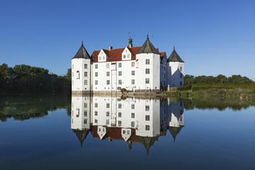 Foto auf Leinwand Schloss Glücksburg Castle