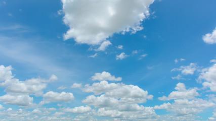 Wonderful white cloud and beautiful sky
