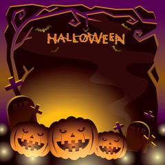 Halloween Pumpkins, Nightmare, Monster, Dim Light