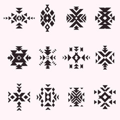 Geometric ethnic elements