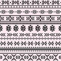 Seamless pattern with geometric motifs