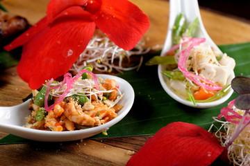 Bali style chicken with lemongrass