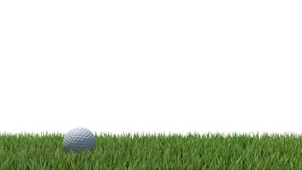 golf ball on green 04