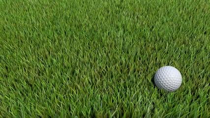 golf ball on green 06
