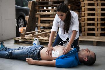 Applicazione elettrodi