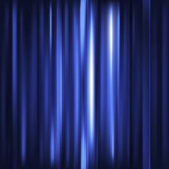 Abstract background. Motion blue vertical lines. Vector technolo