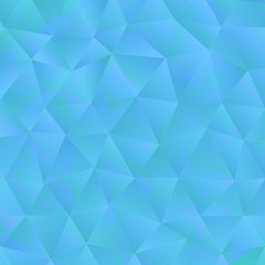 Triangle blue background with light. Abstract Diamond color or p