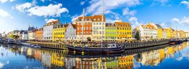 Fotomurales - Nyhavn in Copenhagen, Denmark
