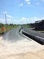 Empty Abandon Road