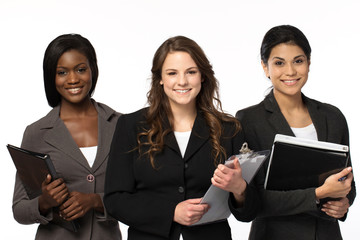 Diverse group of businesswoman